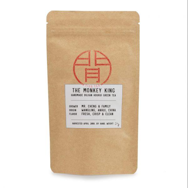 Packaging of the Monkey King Green Tea Houkui