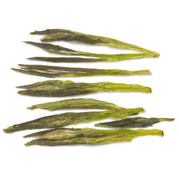 Houkui green tea leaves