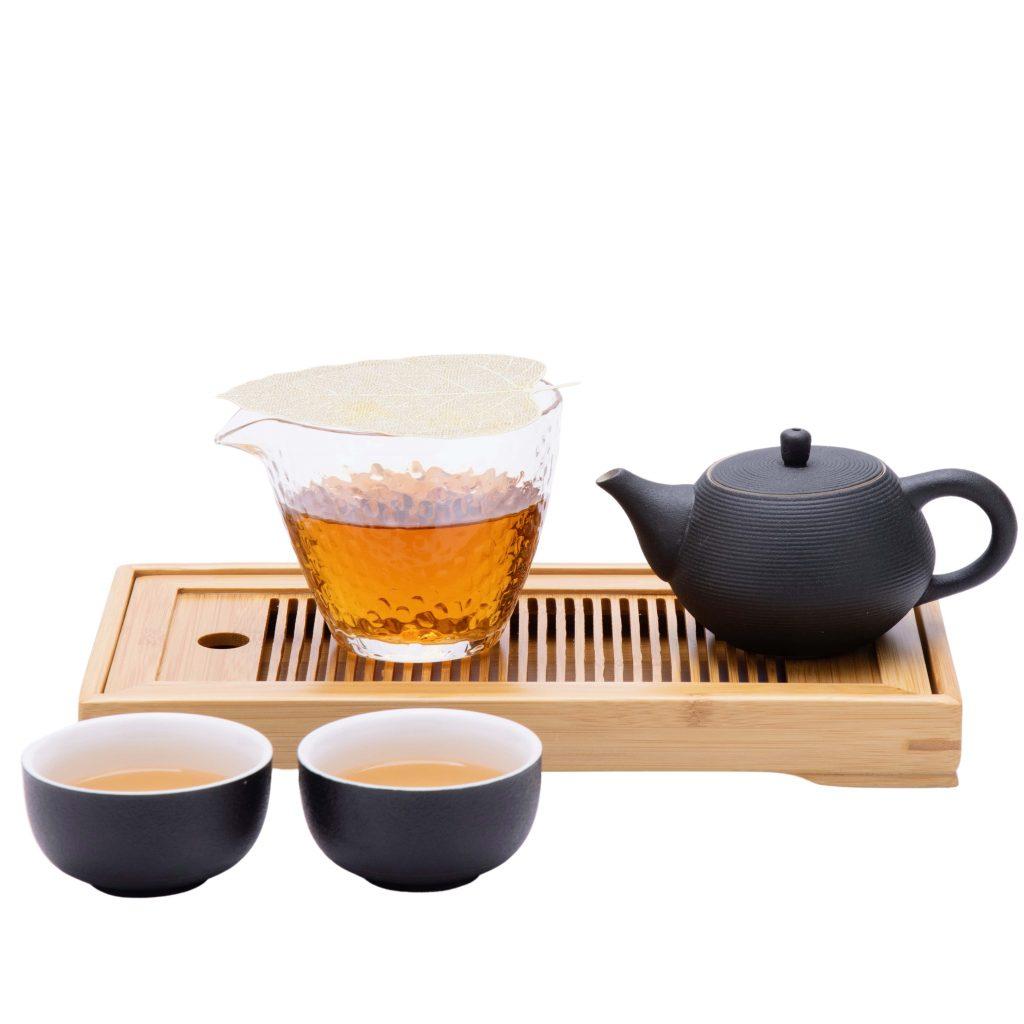 gongfu tea set front view