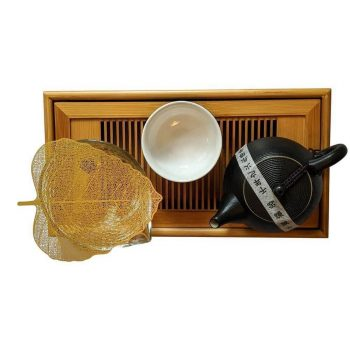 Gongfu Tea Set Top View
