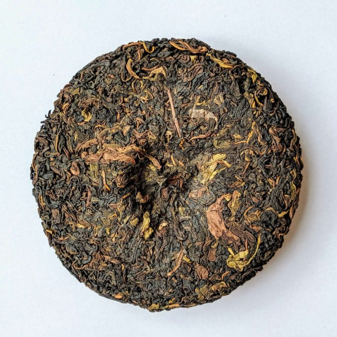Formosa Puerh tea cake