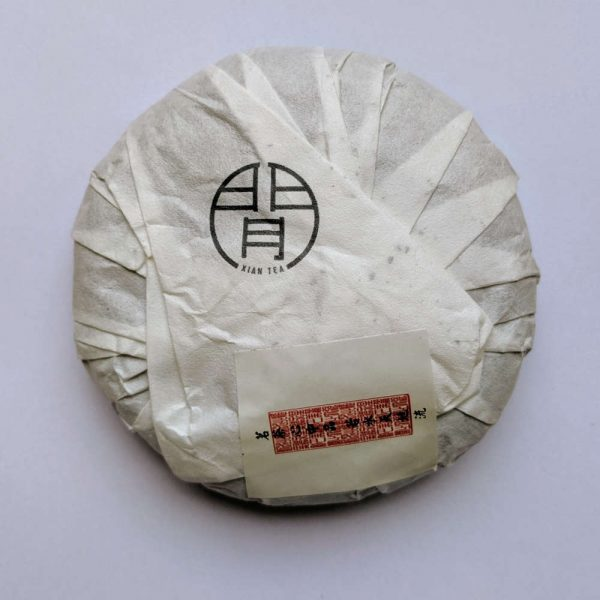 Formosa Puerh Tea packaging back-side