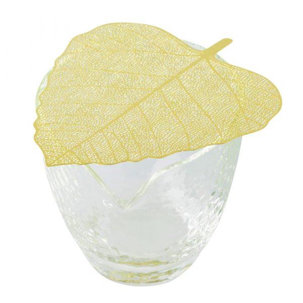 Golden Sieve Tea Strainer