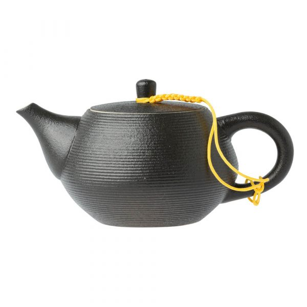 Black Gongfu Style Tea Cup Side
