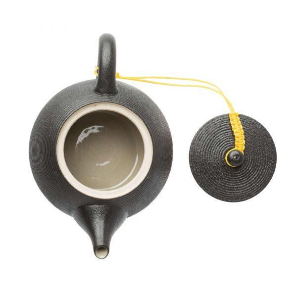 Black Tea Pot Top